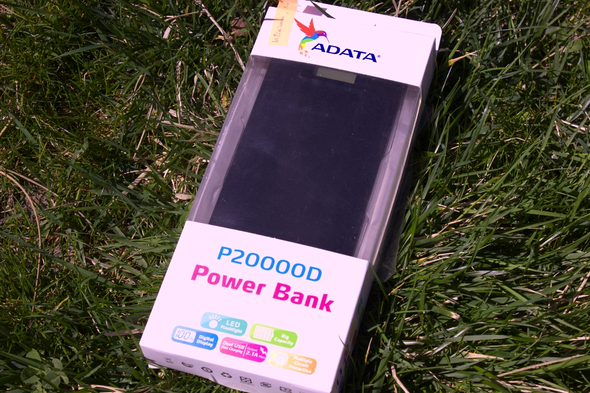 Външна батерия Power Bank P20000D - кратко ревю