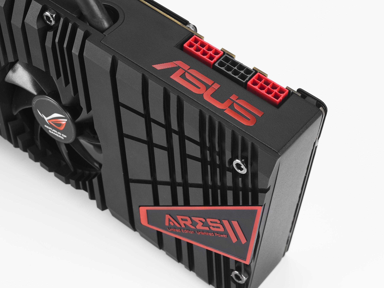 ASUS пусна лимитирана серия от новата видео карта ROG ARES II с ново хибридно охлаждане