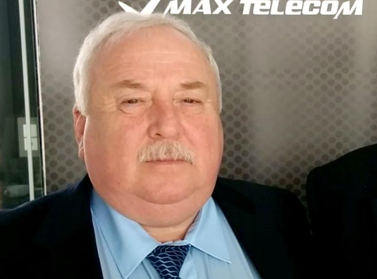 Питър Ковел, изпълнителен директор на Макс Телеком