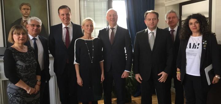 DIGITALEUROPE и БАИТ проведоха серия от срещи на високо и експертно нива във връзка с Българското председателство на Съвета на ЕС