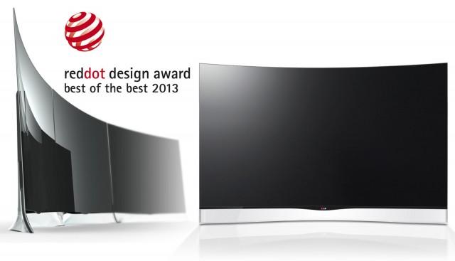 Best of the Best: извит OLED телевизор
