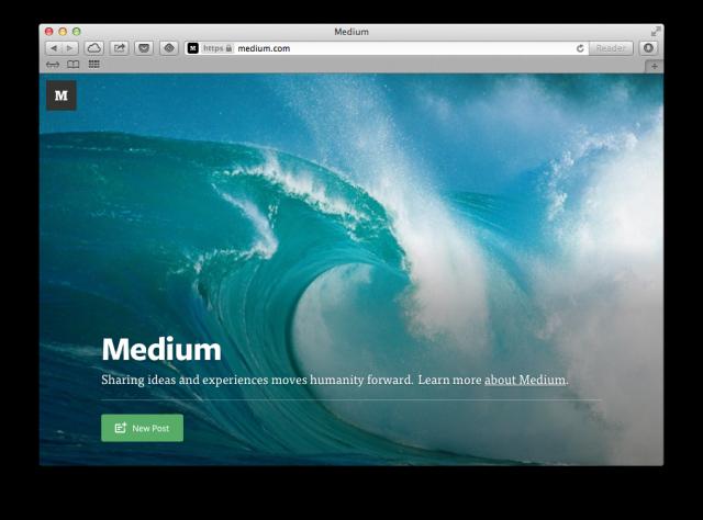 Medium.com - едно красиво място в интернет