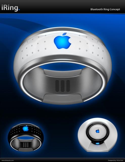 Елегантен iRing Контролира вашият iPhone и iPad
