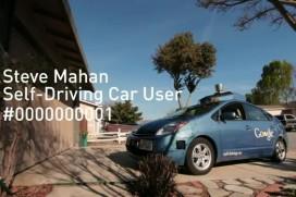 Google повози сляп човек в колата си без шофьор