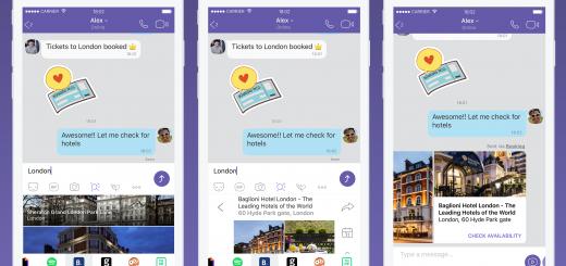 Viber представя ново изживяване в споделянето на съдържание с Chat Extensions