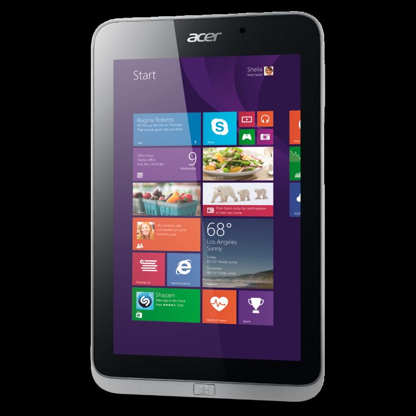 Ново от Acer: Таблета Iconia W4