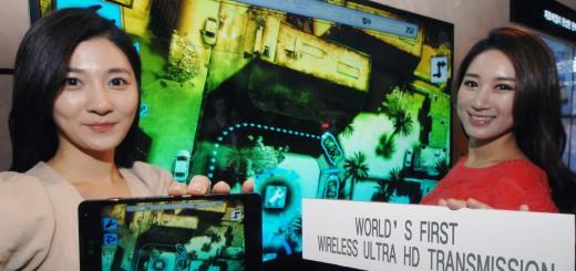 LG представя първата безжична Ultra HD технология на MWC 2013