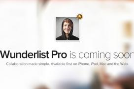Задава се Wunderlist Pro - майсторски бизнес инструмент за управление на задачи
