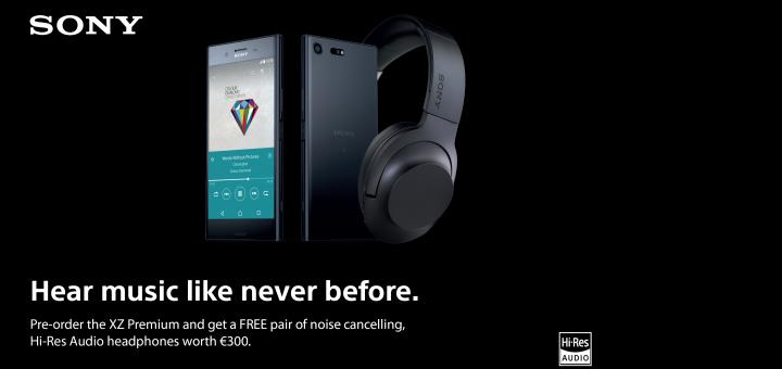 Стартират предварителните поръчки за Sony Xperia XZ Premium