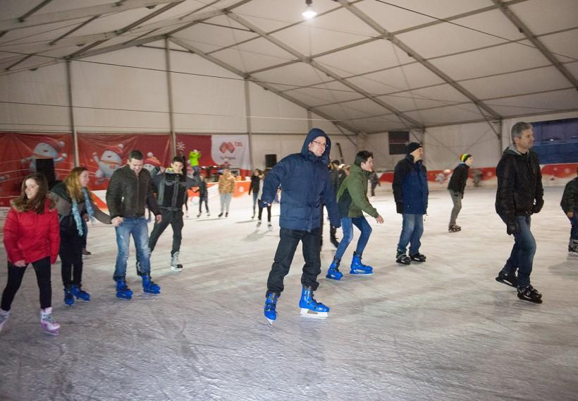 Mtel Rink ще радва феновете на зимните кънки за десета поредна година