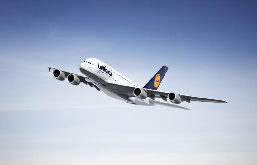 Първо посещение на Airbus A380 на Луфтханза в София