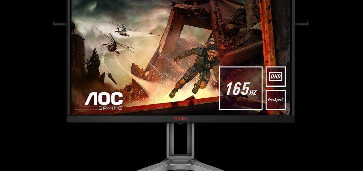 AOC представя новия AG273QX: Дисплей за състезания с QHD резолюция и грабващи окото HDR графики