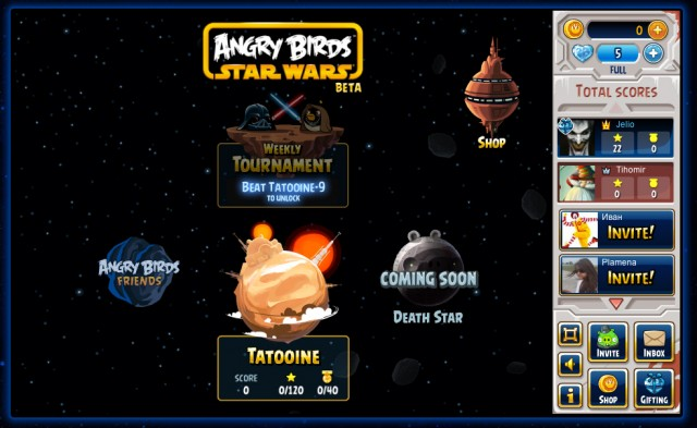Всъщност, защо не тествате Angry Birds Star Wars още сега?