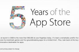 Apple раздават безплатни приложения по случай 5-тия рожден ден на App Store