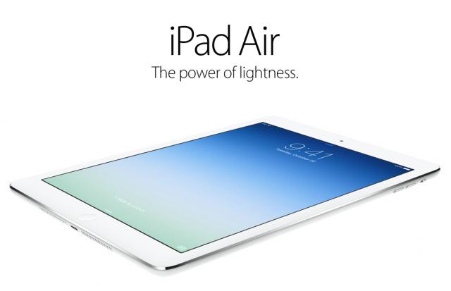 Започнаха продажбите на новия iPad Air
