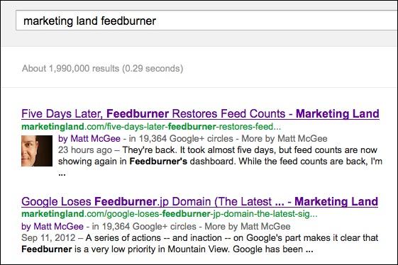 authorship в Google
