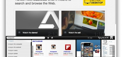 С Axis, браузъра на Yahoo!, търсенето и синхронизирането стават по-лесни