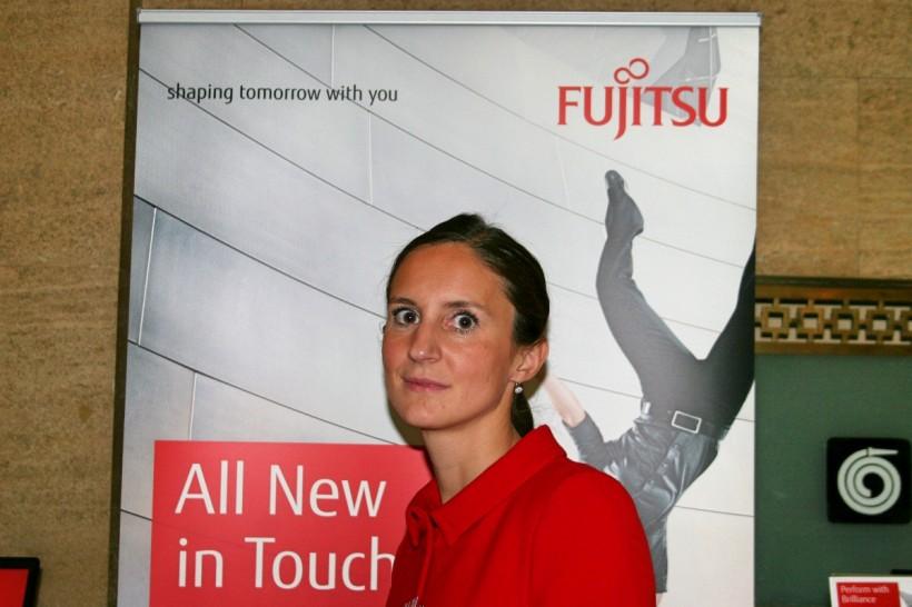 Барбара Д'Интроно за най-новите и най-добри продукти на Fujitsu