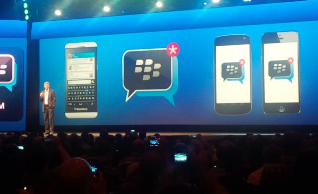 Интересна новина - ще има BBM за iOS и Android