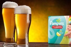 Какво е общото между бирата и памперсите?