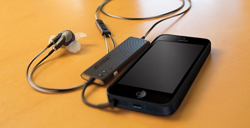 Bose QuietComfort 20 специално предназначени за iOS
