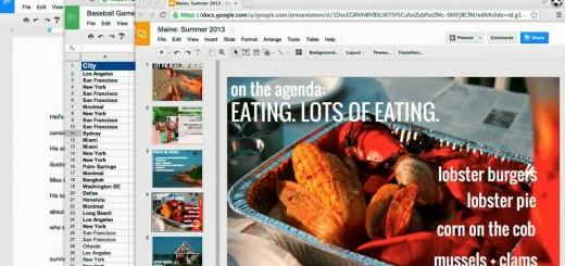 Google ъпдейт за Docs, Sheets, Slides, Drawings, Forms и Apps Script