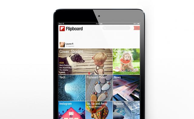 Споделете редакторското място във Flipboard