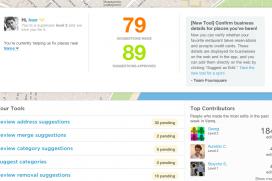 40 000 суперпотребителя се грижат за подредеността на foursquare