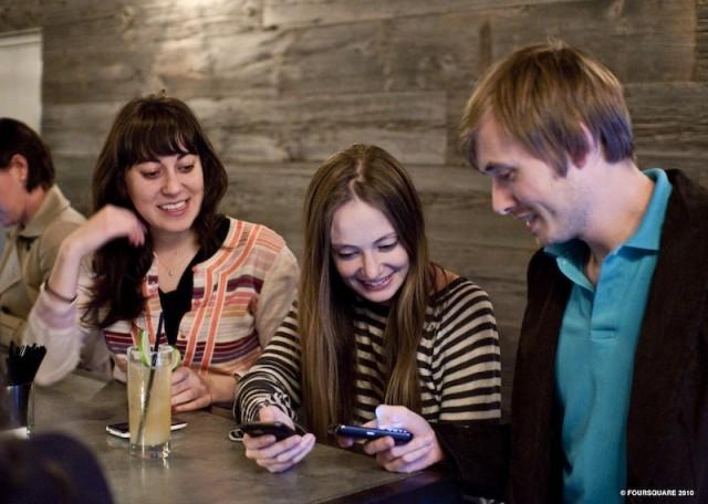 Да си избереш ресторант, или foursquare на помощ