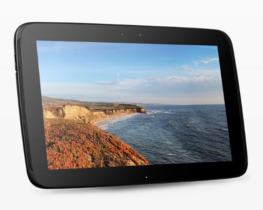 По думите на компанията Nexus 10 е таблетът с най-добра резолюция на планетата, а именно 2560 на 1600 точки.