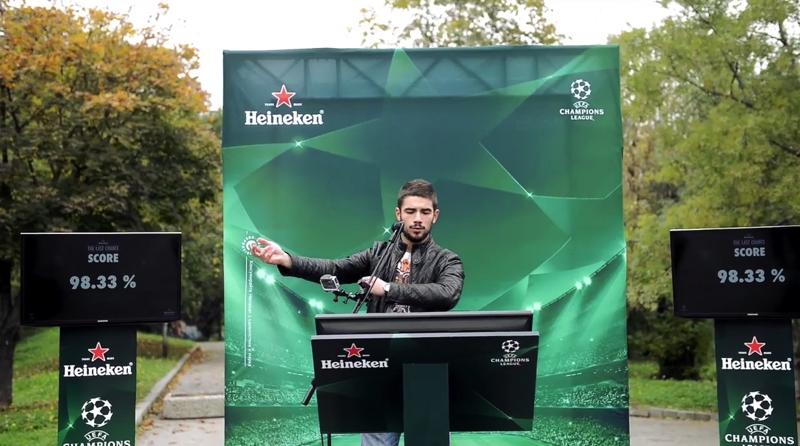 В съревнование с химна на Шампионската лига