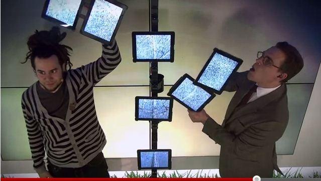 Шведски магии със 7 нови iPad-a