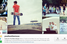 "Участвайте в Instagram конкурса на ЕК ""Какво е младеж в действие"""