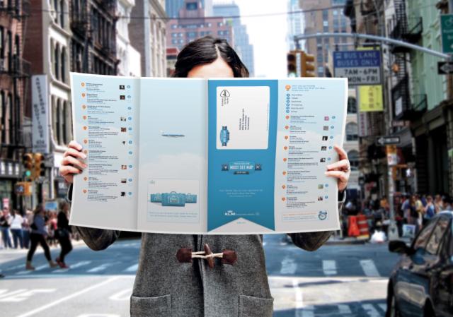 """Дигиталната кампания на KLM, която се подвизава под името """"Must See Map"""", предоставя възможност на потребителите да планират своите пътувания към дадена дестинация с помощта на свои приятели."""