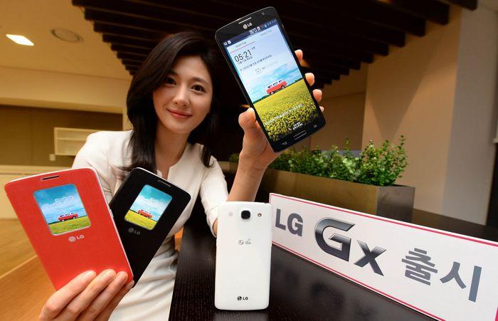 LG представи новия си Android смартфон Gx