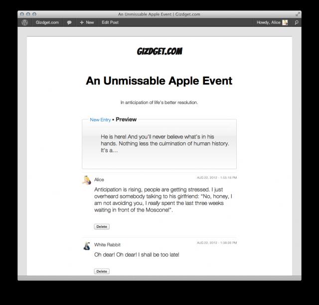 Казва се Liveblog и е plugin, който се инсталира за секунди и е много лесен за ползване.