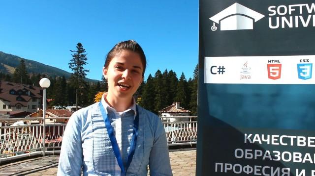 Мая Стоянова за Заедновчас и СофтУни