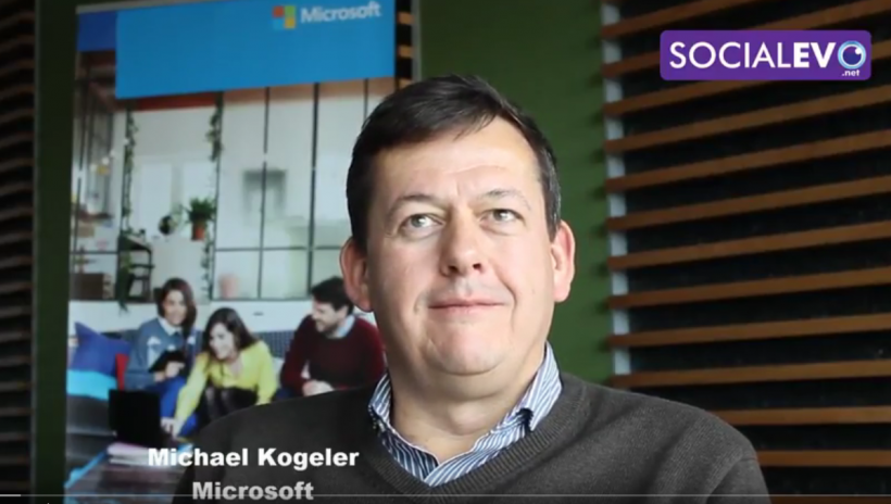 Майкъл Кьогелер за Иновациите в Microsoft - видео интервю