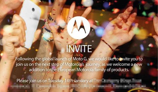 Motorola подготвя Европейска версия на Moto X за 14 януари
