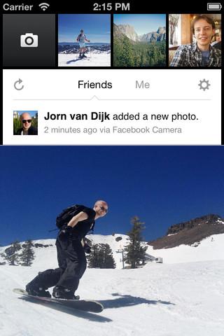 Ето че вчера социалният гигант обяви пускането на ново мобилно приложение за снимки - Facebook Camera.