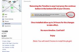 Новият Timeline - отново повод за изява на интернет разбойниците