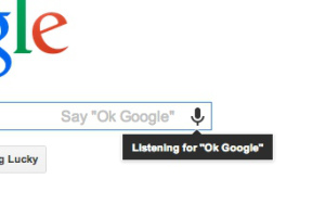 """Ok Google"""