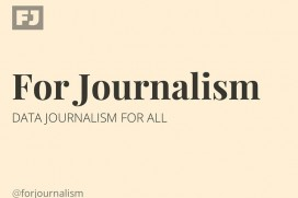 For Journalism