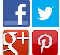 pinterest and twitter