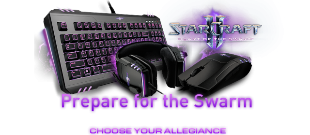 Razer представи обновената серия STARCRAFT® II:HEART OF THE SWARM™.