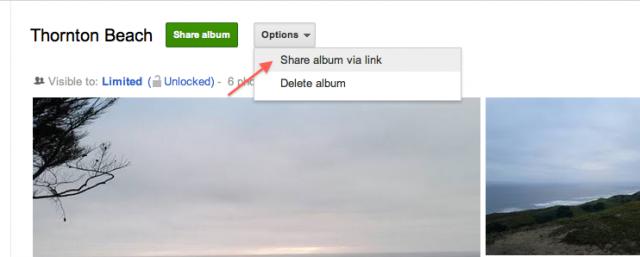 Google+_ulesni_spodeljaneto_na_snimki_sas_Share_Album_via_link