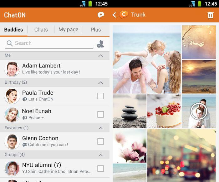 Приложението ChatOn за Android на Samsung получи поддръжка на SMS и MMS