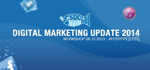 Social Me Workshop 11 – Digital Marketing Update 2014