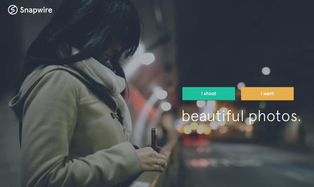 Snapwire среща мобилните фотографи с търсещите качествени фотографии клиенти