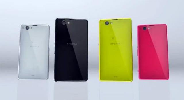 Появи се снимка на Xperia Z1s (Mini) на сайта на Sony